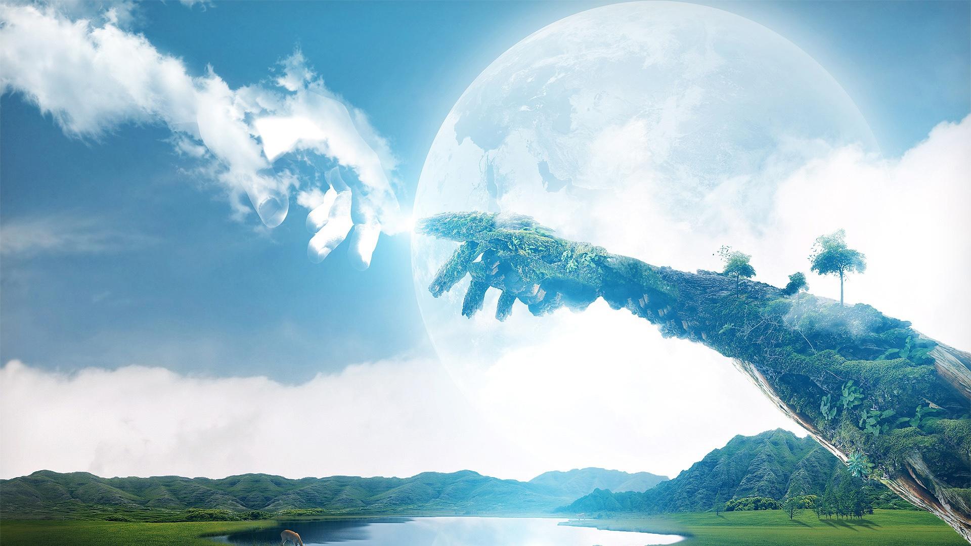 terre ciel matière esprit